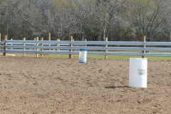 LiveStock Steel Feedlot Doubles as Arena for Barrel Racing