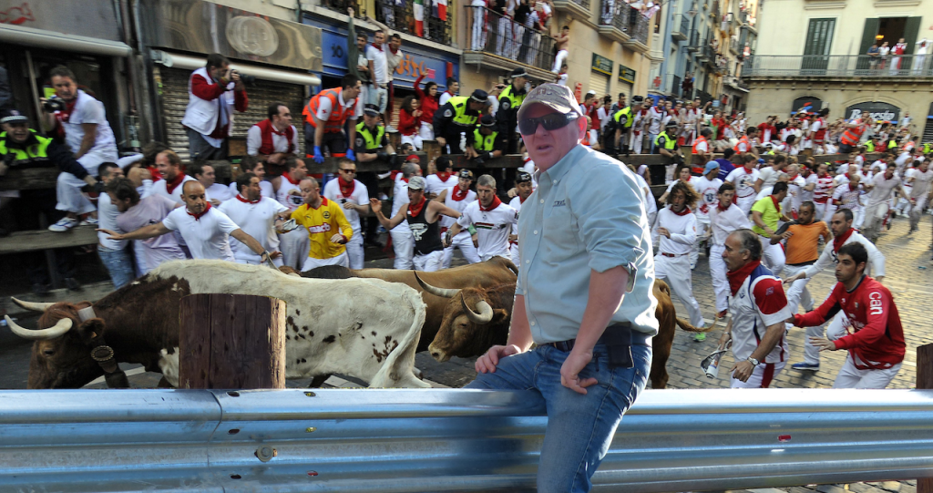 Guardrail is really really needed at the running of the bulls