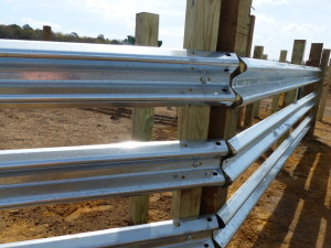 LiveStock Steel is the answer for new guardrail