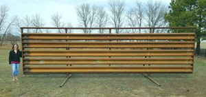 Used Guardrail for Windbreaks